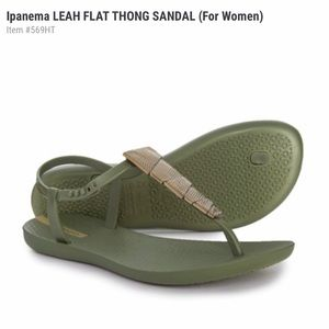 Ipanema Leah Thong sandals size 6 adult NWT